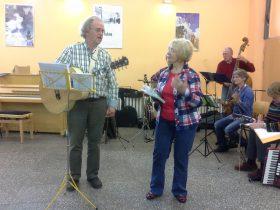 Mik Deboes und Urszula Badura-Schmidt